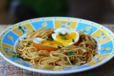How To Cook Mi Goreng with Soy Sauce Eggs