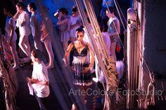 foto di danza, uno spettacolo visto da dietro le quinte