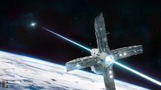 Beam Sailor _ Space station concept (Blender, 3D) by TomWalks.deviantart.com on @DeviantArt