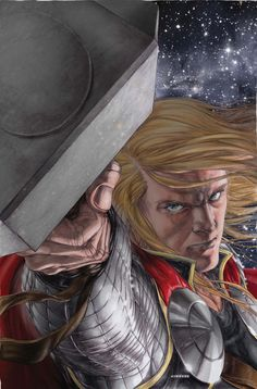 Thor by Mike Choi............!!!!
