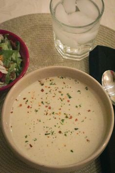 Grain Crazy: Creamy Roasted Cauliflower Cheese Soup. Delicious soup that you will love.