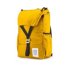 The Y-Pack is a twist on the classic flap pack. With a wide flap and single latch closure the Y-Pack fuses ease-of-use with modern functionality.
