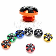 $14.44 (Buy here: https://alitems.com/g/1e8d114494ebda23ff8b16525dc3e8/?i=5&ulp=https%3A%2F%2Fwww.aliexpress.com%2Fitem%2FMotorcycle-CNC-engine-oil-filler-cap-7-colors-optional-aluminum-fFor-kawasaki-Z1000-2010-2011-2012%2F32559036746.html ) Motorcycle CNC  engine oil filler cap orange aluminum For ducati streetfighter 848 Honda CBR250R CBR300R CB300F CBR500R CB500F for just $14.44