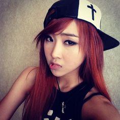 Minzy.  2NE1.