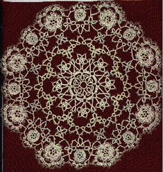 My Completed Doily (Full View)