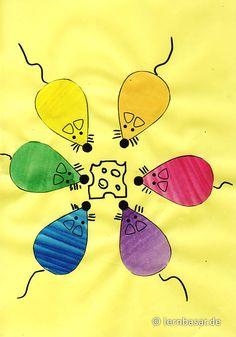 Diese Mäuse bekennen Farbe