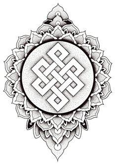 Dotwork Tattoo Mandala, Geometric Mandala Tattoo, Ganesha Tattoo, Mandala Tattoo Design, Tattoo Design Drawings, Tattoo Designs, Tattoo Ideas, Forearm Band Tattoos, Belly Tattoos