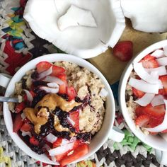 jessicasodenkamp:  Oatmeal bowls for breakfast ✔️