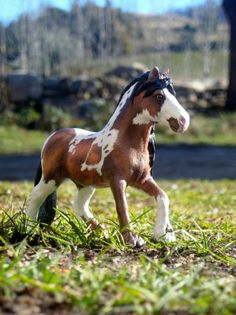 Custom de la jument fell schleich par sabots d'or