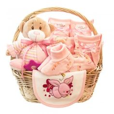 cos cadou cu pantalon, bluze si body pentru nou nascut baieti Wicker Baskets, Cos, Diaper Bag, Bunny, Cute Bunny, Hare, Diaper Bags, Rabbit, Rabbits