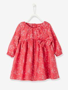 Vestido estampado bebé niña - ROSA ESTAMPADO - 1