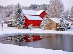Winter Wonderlands has members. This group is for posting pictures of gorgeous winter scenery. I also encourage you to post locations and. I Love Winter, Winter Time, Country Barns, Country Living, Country Roads, Into The West, Photo Images, Winter Scenery, Farm Barn
