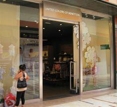 Benetton: moda Infantil Local: L0-79. Teléfono: 968 478 160 http://es.benetton.com/ninos/