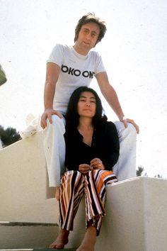soundsof71: John Lennon & Yoko Ono 1971 by Anthony Di...