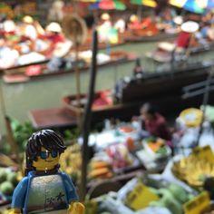 Our LEGO explorer is taking in the sights sounds and smells of the fantastic floating market in Bangkok #Lego #Etsy #travel #thailand #adventure #floatingmarket #wanderlust  #legostagram #legophotography #legominifigures #legomania #legoland #legofan #afol #market #traveller #longtailboat #backpacker #legos #bricks #food #brickcentral #bricknetwork #toyphotography #legominifigures #loves_asia #thaistagram #paradise  @bricknetwork @lego_hub @lego  @toyslagram_lego by lego_freakyfinery
