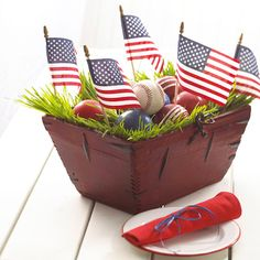 All-American Centerpiece