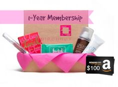 FatWallet's Mother's Day Giveaway: Win a $100 Amazon Gift Card & 1-Year Birchbox Subscription!