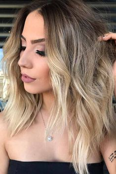 Brown to Dirty Blonde Ombre picture1