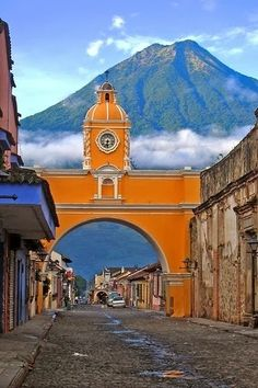 Antigua in Pictures - After this there is no doubt about the need to experience Guatemala! A comprehensive guide to backpacking Guatemala on a budget with tips on how to save money, cheap places to eat, top things to do, and so much more. Tikal, Places Around The World, Oh The Places You'll Go, Places To Travel, Places To Visit, Travel Destinations, Belize, Honduras, Central America