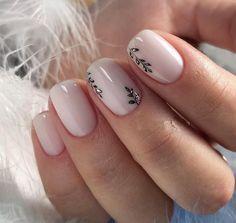 Nail Art Designs 💅 - Cute nails, Nail art designs and Pretty nails. Square Acrylic Nails, Acrylic Nail Designs, Nail Art Designs, Nails Design, Round Square Nails, Winter Nail Designs, Short Nail Designs, Winter Nails, Spring Nails