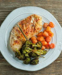One Pan Roasted Chicken and Vegetables | Framed Cooks