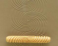 Resultado de imagen para Tribal Lines Theme Clay Stamp Roller Set of Four Unique Border Design Bisque Pottery Tool for Ceramic Decoration and Texture Pottery Supplies, Pottery Tools, Slab Pottery, Ceramic Pottery, Pottery Art, Ceramic Tools, Ceramic Decor, Ceramic Art, Sgraffito
