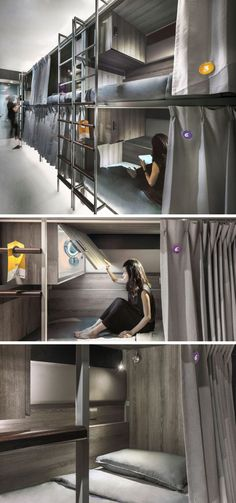This Singaporean hostel (COO) has four floors of accommodation, with 11 newly furnished rooms with bunk beds, enabling a total of 68 beds.