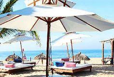 Baxar Hotel y Club de Playa, Pie de la Cuesta, Guerrero - A 20 minutos de Acapulco, a la entrada de Pie de la Cuesta.