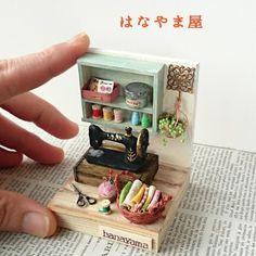 By hanayama ♡ ♡ mini sewing station | miniature sewing