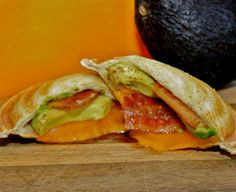 Bacon Avocado Grilled Cheese Pudgy Pie