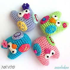 Instructions - Mini owl (Toy).  C1.42 for pattern 6/14.