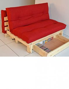 Futon Frame With Storage Drawers
