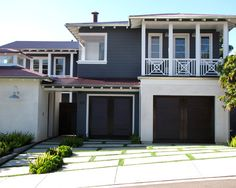 Spaces Gray Exterior White Trim Black Shutters Design, Pictures, Remodel, Decor and Ideas - page 19