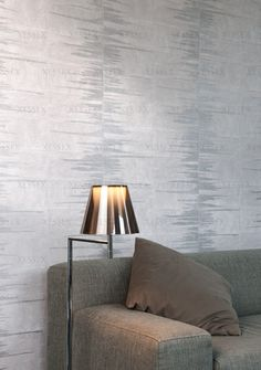 Antiaris - Eye-catching vinyl #wallcovering inspired by #patchwork of #natural bark cloth, in combination with an #ethnic non-woven wallcovering printed with a refined #velvet. (Visit www.xessex.com.sg for the latest ranges and collections of #wallcoverings and #wallpapers!)