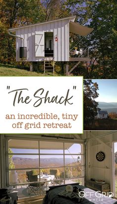 """""""The Shack"""" is an incredible, tiny off grid retreat"""