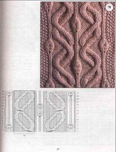 схемы вязания араны