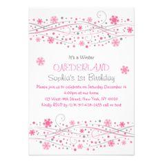 Invitaciones del cumpleaños de Onederland del Invitación 12,7 X 17,8 Cm