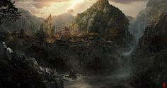 video game background art - Google Search