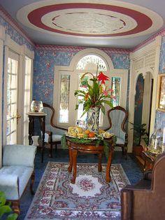 Dollhouse Minis: The Key West Island House ~ Robin Carey