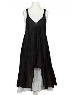 Damen Lagenlook Kleid 2-tlg., schwarz von Z 4 bei www.meinkleidchen.de