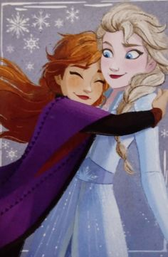 Anna Y Elsa, Anna Frozen, Descendants, Disney Characters, Fictional Characters, Aurora Sleeping Beauty, Fanart, Disney Princess, Lovers