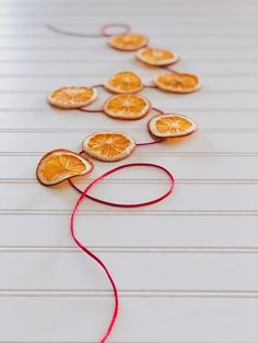 Dried Orange Slices for Christmas Decorations & More - Back Road Bloom Natural Christmas, Homemade Christmas, Beautiful Christmas, Dried Orange Slices, Dried Oranges, Diy Name Tags, Handmade Decorations, Christmas Decorations, Homemade Potpourri