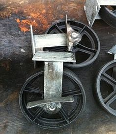 Superbe This Auction Is For FOUR Top Plate Rigid 8 Casters With Brakes After  Numerous Requests For Antique Casters, I Am Now Selling The Casters I