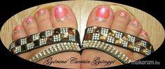 #nail #nails #nailart #beauty #nailsalon #naildesign #nailstyle #style #pinkcadillac #pink #pinknail #gyongyinail #foot