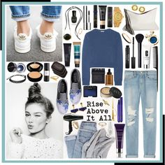 Rise Above - - - IT ALL by brittneybell on Polyvore featuring Miu Miu, Frame Denim, Mother of Pearl, LACAMBRA, Rolex, Marni, MARC BY MARC JACOBS, Chanel, ChloBo and Pieces