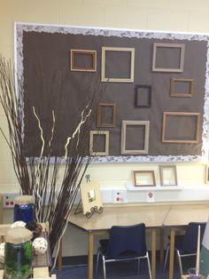 Art studio display space - Inquiring Minds...The Kindergarten Edition ≈≈…