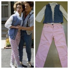 Back to The Future Jennifer Parker Costume Marty McFly Prop Hoverboard DeLorean … - Party Outfits 80s Halloween Costumes, 80s Costume, Baby Halloween, Cool Costumes, Cosplay Costumes, Halloween 2015, Halloween Ideas, Costume Ideas, Marty Mcfly Costume