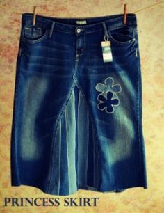 """""""Love My Jean Skirt"""" - new websight with great jean skirts - new and vintage patterns!!"""