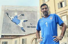 Puma lança nova camisa da Itália no bairro da Mooca em São Paulo