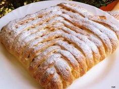 Szőttes almás pite | Edit56 receptje - Cookpad receptek Hungarian Cake, Hungarian Recipes, Hungarian Food, Torte Cake, Winter Food, Tart, Food And Drink, Sweets, Bread